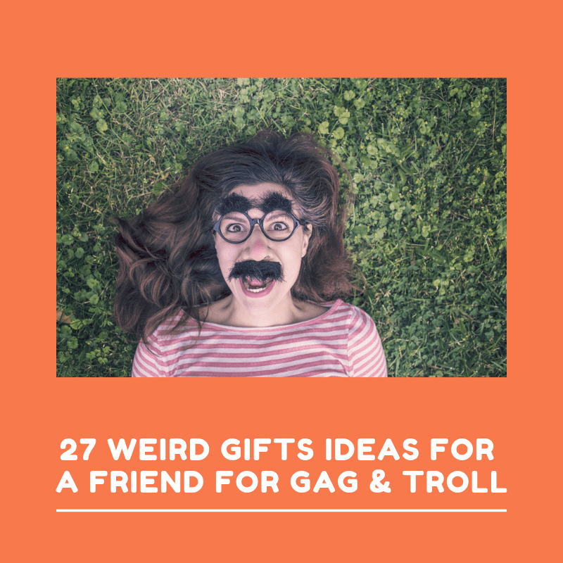 27 Weird Gifts Ideas for a Friend for Gag & Troll